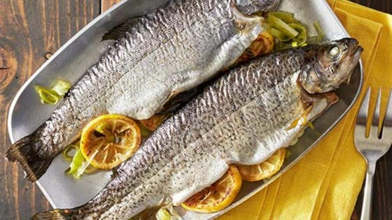 Photo of Grilled Whole Trout Foil Packets by Reynolds Kitchens®