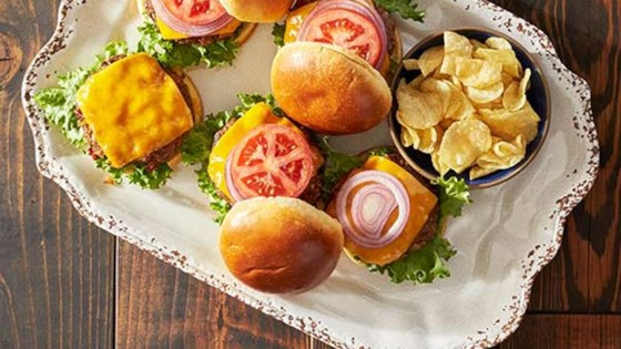 Photo of Zesty Chipotle Cheddar Burgers by Reynolds Kitchens®