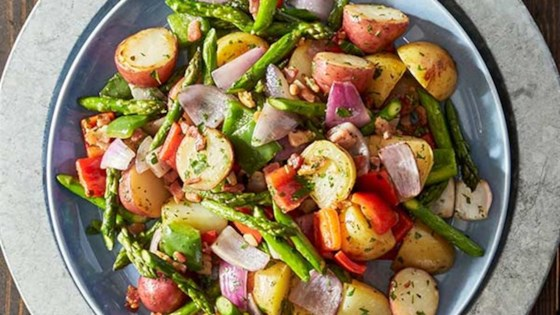 Photo of Grilled Vegetable-Pancetta Foil Packets by Reynolds Kitchens®