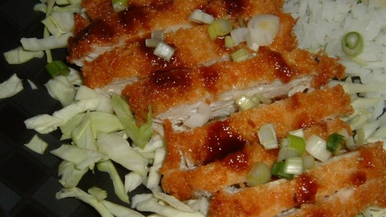 Photo of Ashley's Chicken Katsu with Tonkatsu Sauce by BASKETBALLGIRL