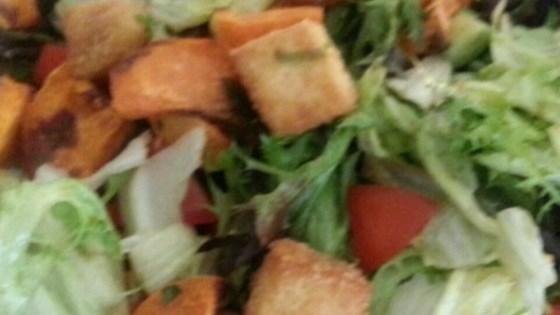 Photo of Amazing Crunchy Tofu Salad by Alyssa