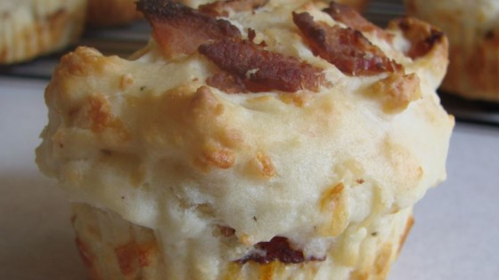 Photo of Bacon Cheese Muffins by Deb Bowyer