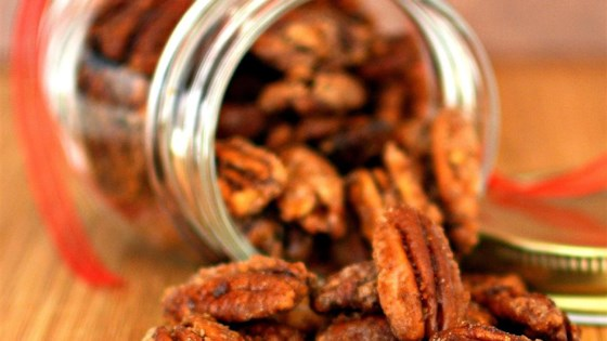 Photo of Glazed Spicy Cinnamon Pecans by arlene