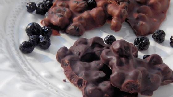 Photo of Chocolate Blueberry Bark by Jen