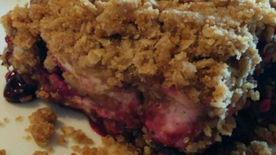 Photo of Saskatoon Berry Cream Cheese Crumb Cake by tapguod