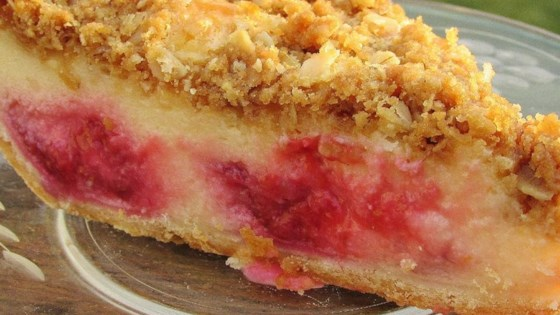 Photo of Raspberry Sour Cream Pie by Cathy M.