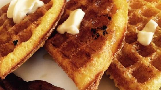Gritty Waffles
