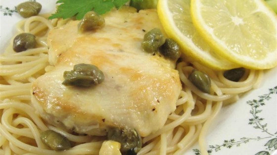 Photo of Chicken Piccata with Fettuccine by Kate