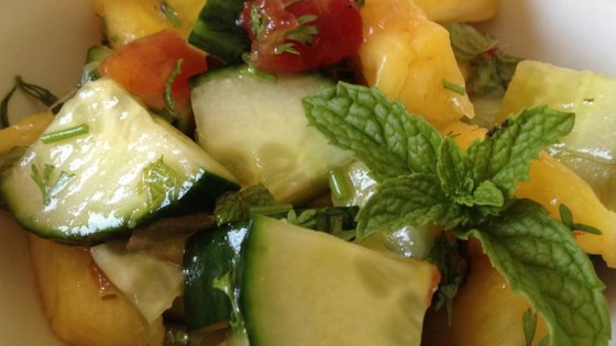 Photo of Pineapple Cucumber Salad by Ann Freele