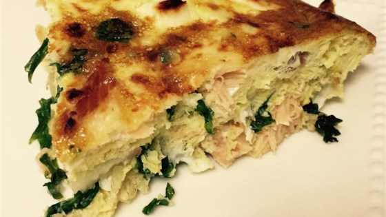 Photo of Kale and Smoked Salmon Frittata by DAIRMUID
