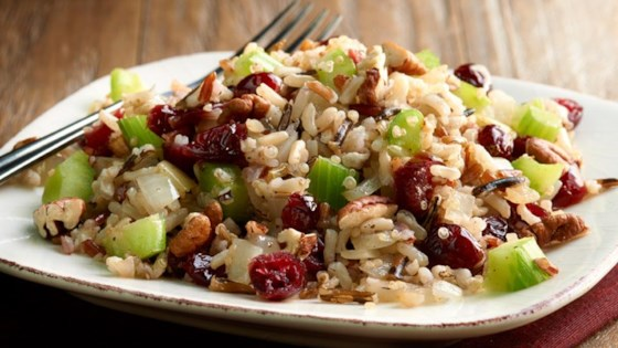 Photo of Cranberry Pecan Multi-Grain Stuffing by Minute Rice