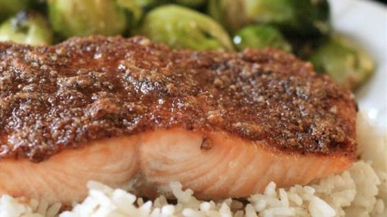 Paleo Pecan Maple Salmon Recipe Allrecipes Com
