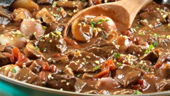 Photo of Braised Beef with Shallots and Mushrooms by Campbell's Kitchen