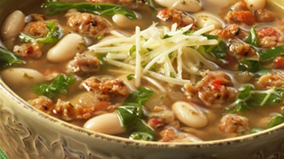Photo of Tuscan White Bean Soup from Swanson® by Campbell's Kitchen