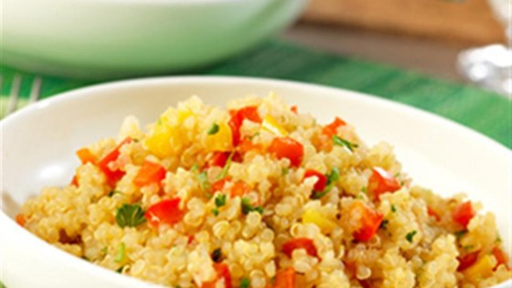 Photo of Quinoa and Pepper Pilaf by Swanson®