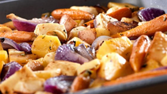 Photo of Oven-Roasted Root Vegetables from Swanson® by Swanson®
