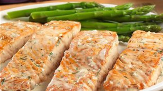 Photo of Salmon with Creamy Dill Sauce from Swanson® by Swanson®