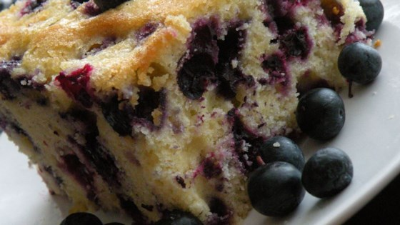 Photo of Melt In Your Mouth Blueberry Cake by IRENED