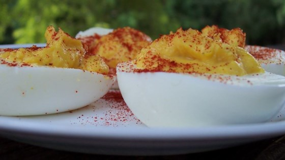 Sell your soul to the devil eggs recipe allrecipes sell your soul to the devil eggs forumfinder Gallery