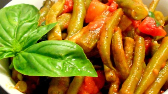 Photo of Aunt Kate's Green Beans in Tomatoes by BARBIANN