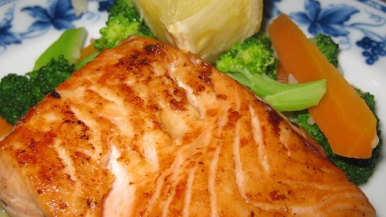 Photo of Lime-Marinated Grilled Salmon by whodunitrdr