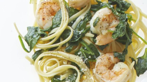 Garlic Shrimp Linguine Recipe