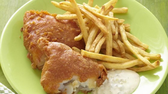 Beer batter fish made great recipe for Deep fry fish batter