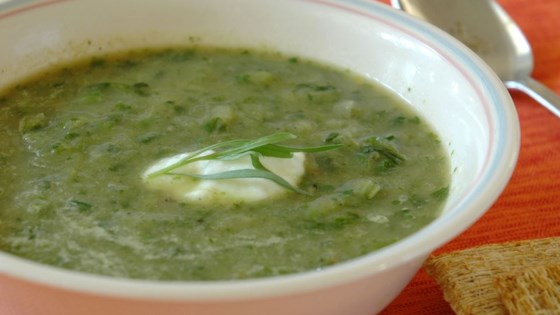 Photo of Lettuce and Tarragon Soup by Sheila Greer