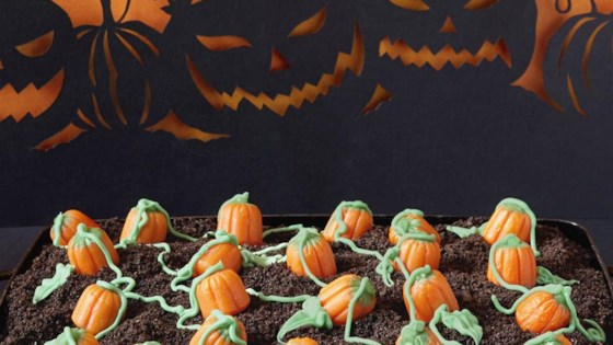"Photo of Pumpkin Patch ""Dirt"" Cake by Allrecipes Magazine"