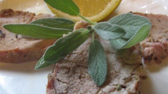 Photo of Lemon-Garlic Pork Tenderloin by Nancy Schmitt