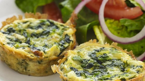 Photo of Spinach and Spaghetti Squash Quiche by Cillia
