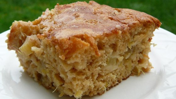 Photo of Rhubarb Stir Cake by Deb