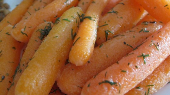 Photo of Baby Carrots with Dill Butter by CALISPICEGIRL