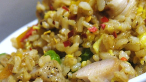 Chinese chicken fried rice ii recipe allrecipes aprils chicken fried rice ccuart Images