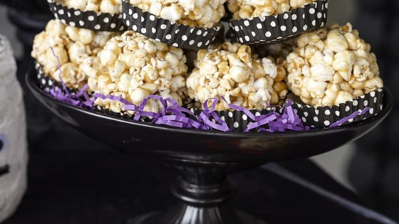 Photo of Caramel Popcorn Balls by Suzanne