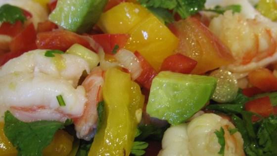 Photo of Avocado-Lime Shrimp Salad (Ensalada de Camarones con Aguacate y Limon) by La AfroCubana
