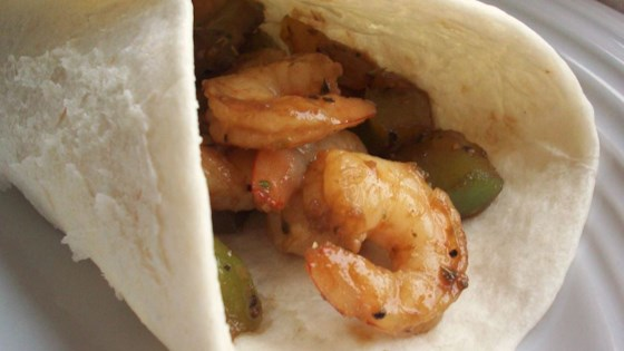 Photo of Quick and Easy Shrimp Fajitas by AnneMo