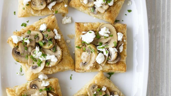 Photo of Mini Mushroom and Goat Cheese Tarts by Scratch