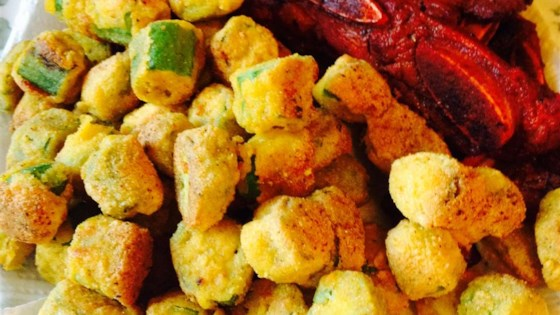 Photo of Spicy Southern-Fried Okra by Melissa Hamilton