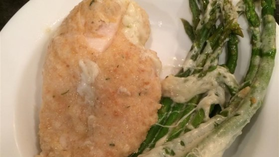 Photo of Quick Chicken with Asparagus and Provolone by Rosanna