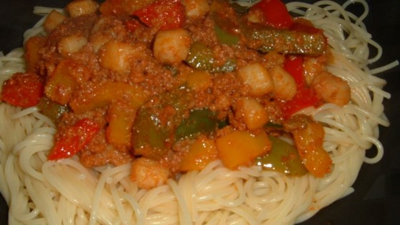 Photo of Scallop and Chorizo Pasta by George R.