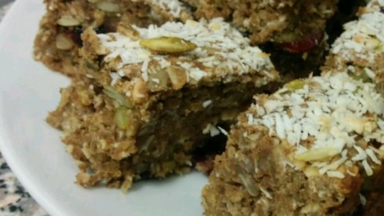 Photo of Banana Oatmeal Protein Bars by bradyike