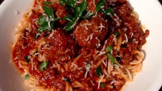 Photo of Filipino Spaghetti by DarKerRaven