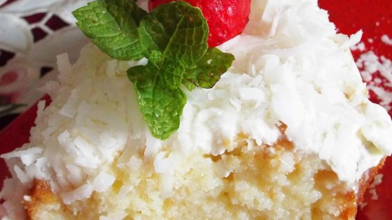 Photo of Coconut Cream Cake I by GPAIN