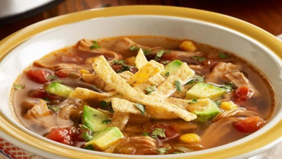 Photo of PAM's Spicy Slow Cooker Chicken Tortilla Soup by Pam Cooking Spray