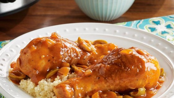Photo of PAM's Slow Cooker Moroccan Chicken with Couscous by PAM® Cooking Spray