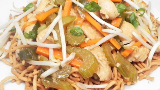 Cantonese chicken chow mein recipe allrecipes cantonese chicken chow mein forumfinder Image collections