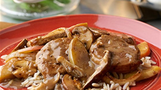 Photo of Pork with Apples and Mushrooms by Swanson®