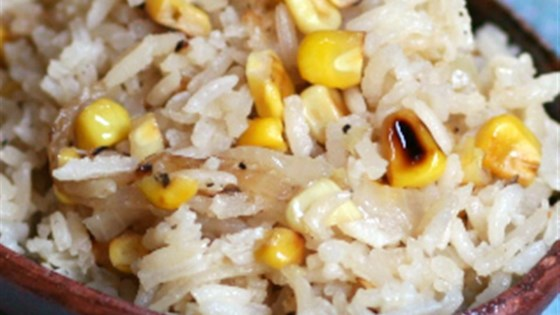 Photo of Rice with Pan-Roasted Corn and Onions by Swanson®