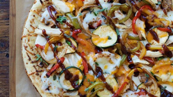 Photo of BBQ Chicken Pizza with Veggies by Hidden Valley®